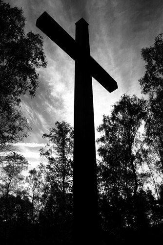 Belsen Cross 2 b&w | by Jasmic