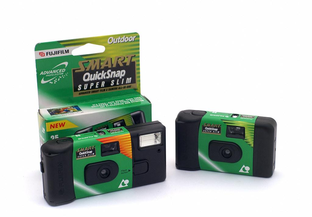 Fuji Smart Quicksnap Super Slim Disposable Aps Camera Flickr