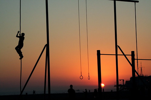 Rope Climbing, Santa Monica | by Boss Tweed