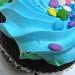 Blue Work Cupcake: VI