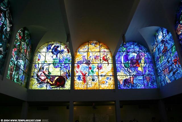IL04 2458 Chagall Windows - Hadassah Hospital | Flickr ... Chagall Hadassah Windows