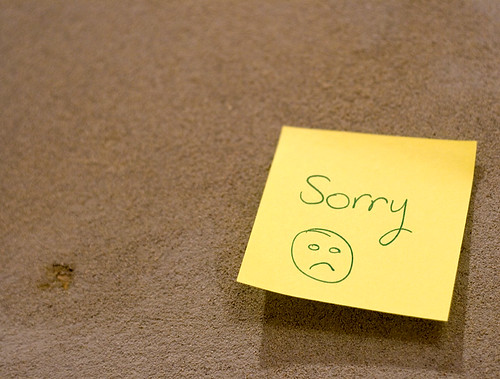Sorry .... :( | by Fatma Alemadi