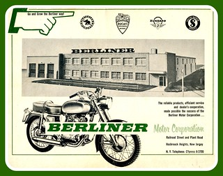 Berliner Motorcycle Ad | by montanaman1