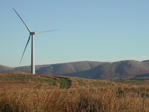 Wind turbine, Cumbria, 2006 | by S John Davey