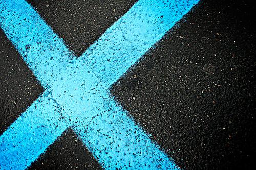 blue x giorgio raffaelli flickr