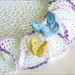 3D Butterfly Doily, Detail