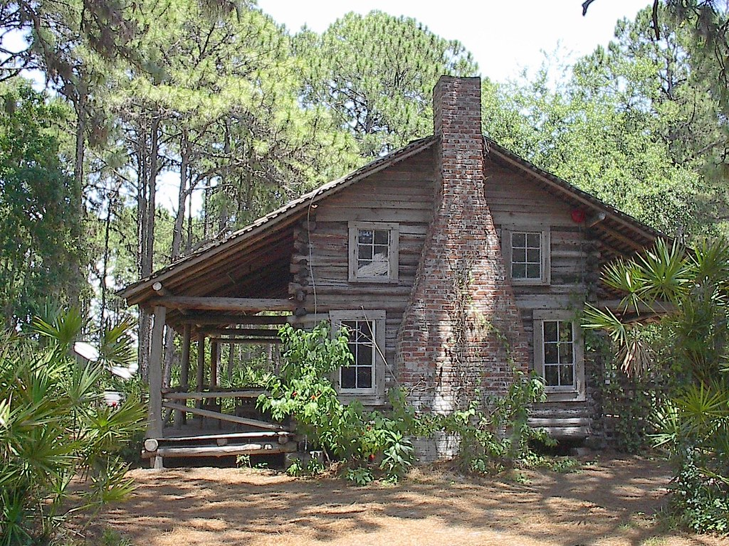 Cabin In Florida Peaceful Old Cabin In The Woods At