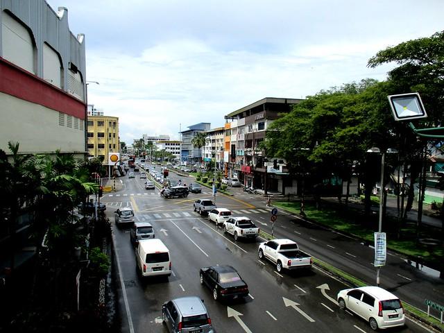 Jalan Kampung Nyabor Sibu