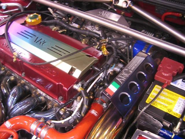4g63 Arc Jdm Blinged Out Engine Evo9 Evo8 Evolution Lancer Flickr