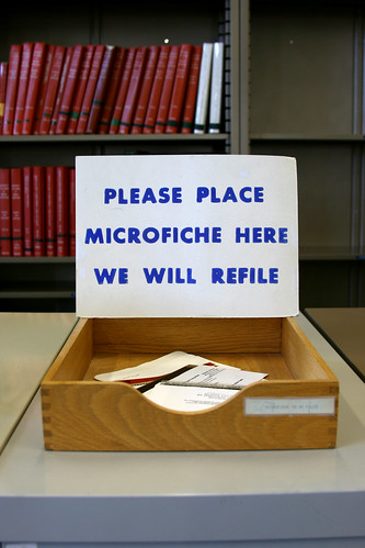 Please place microfiche here | by Oldtasty