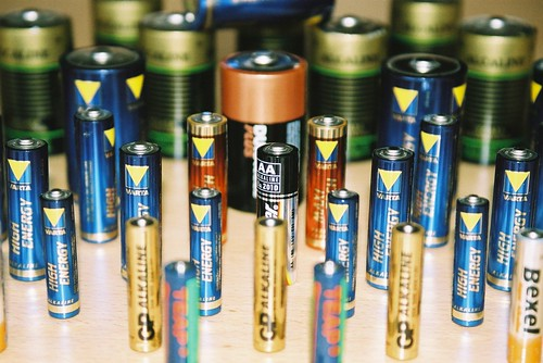 Batteries | by tomblois