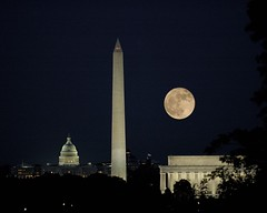 Moon Over Washington | by danlward