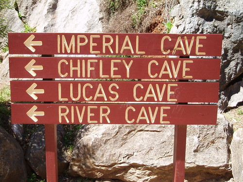 Cave signs - Jenolan | by Charlie Brewer