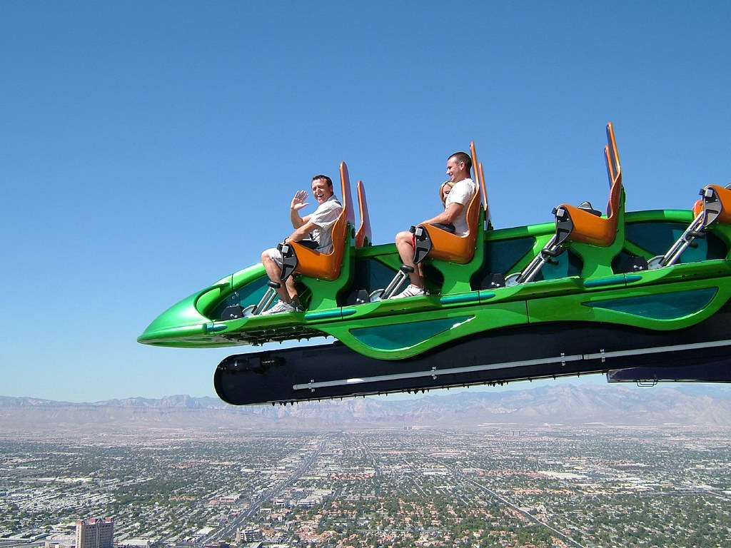 X Scream On Top Of The Stratosphere 100 Floors High