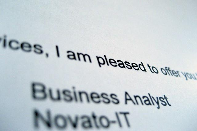 Business Analyst Job Resume