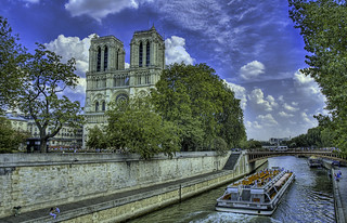Notre Dame from the Seine | by Stuck in Customs