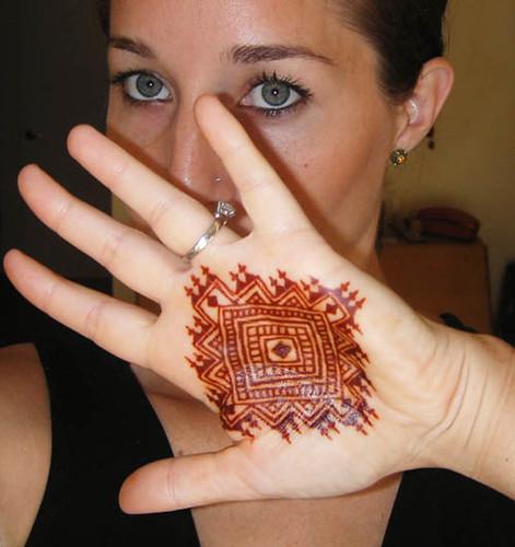 Geometric henna | Darcy Vasudev | Flickr