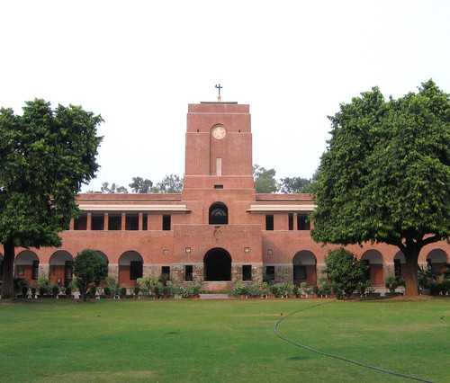 St Stephen S College Delhi This Is The Main Building