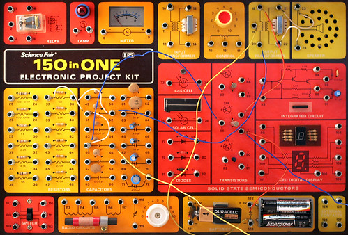 150 in ONE: Electronic Project Kit | by chrisglass