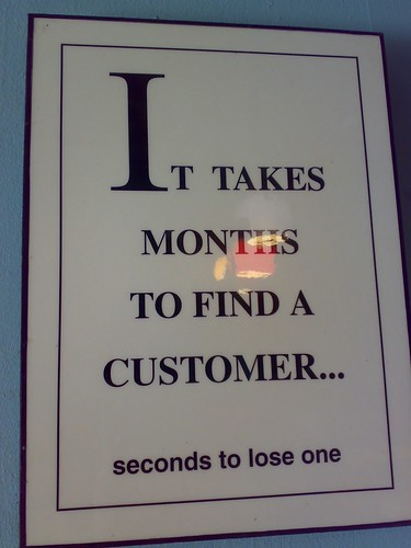 """It takes months to find a customer..."" 