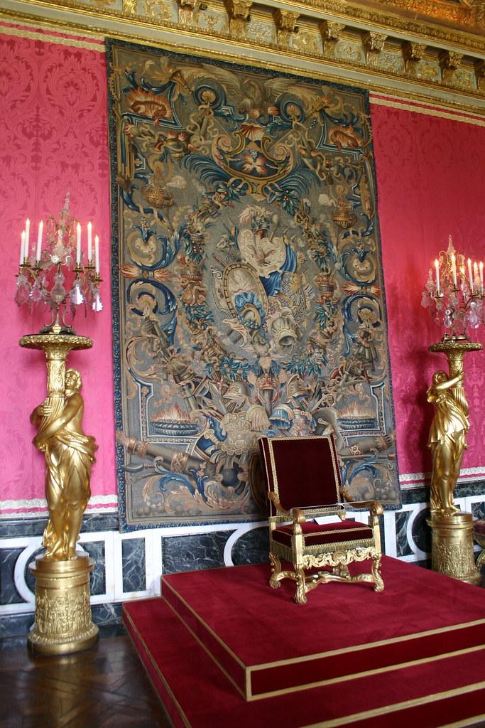 Salon d 39 apollon salle du tr ne ch teau de versailles for Salon d apollon