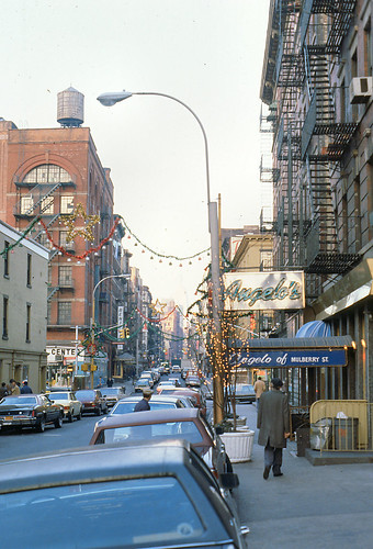 New York (1982) - Angelo's of Mulberry Street | by galabgal