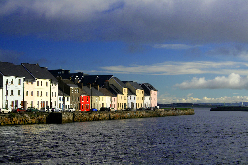 The Town of Claddagh in Galway.