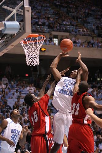 UNC Men's Basketball Team | UNC vs. GWU - Alex Stepheson ...
