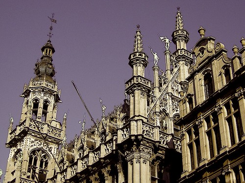 Grand Place Brussels ; Steeples | by SheriTherapist