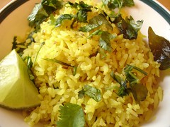 Poha (Fried flattened rice) | by rovingI