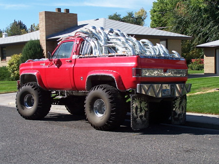 souped up truck | A Northwest College professor spends an ...
