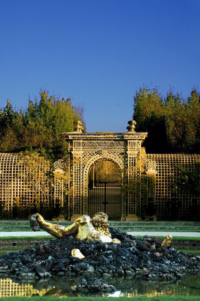 Bosquet De L Encelade Versailles France The Bosquet De