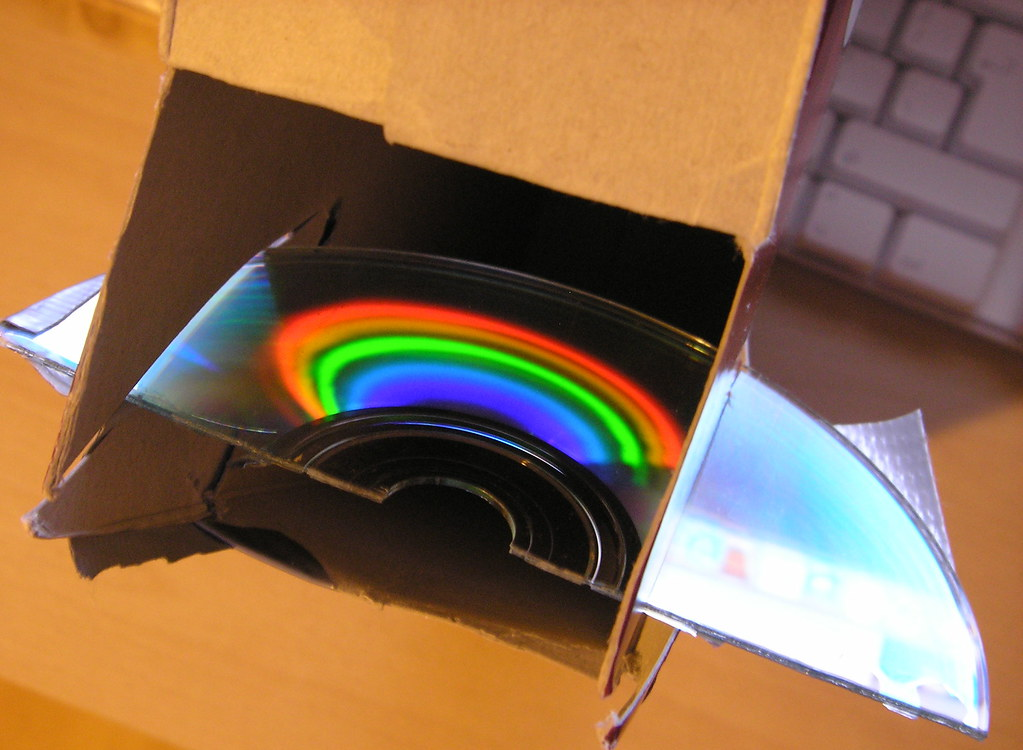 Homemade Spectrometer Still Needs A Bit Of Tweaking But
