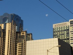 Moon over Moscone | by dtweney
