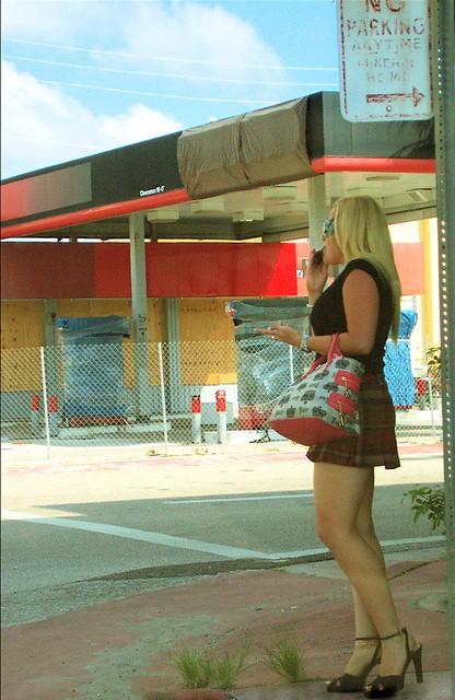 American mom street walker