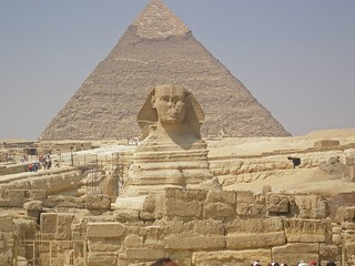 The Sphinx & Pyramid of Khafre | by Mark Coley