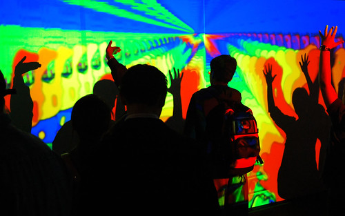 Interactive Color Wall @ Wired Nextfest 2006 | by Adam Arroyo