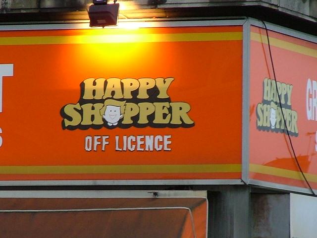 Fragments of a childhood #1: Happy Shopper, Preston Road ...