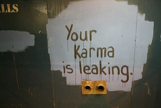 Your karma is leaking | by aturkus