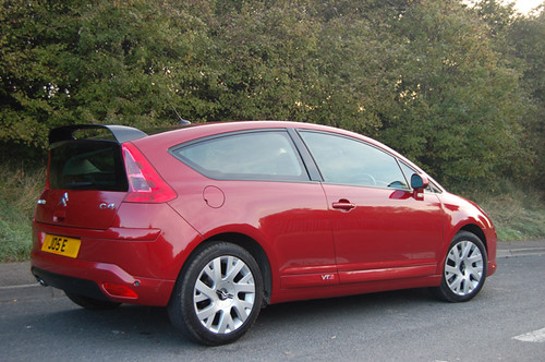 2005 Citroen C4 Coupe Vts Small Pic Of Our Wicked Red Citr Flickr