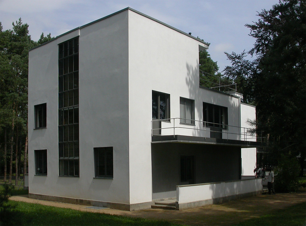 bauhaus dessau meisterhauser walter gropius 1925 26 gab flickr. Black Bedroom Furniture Sets. Home Design Ideas