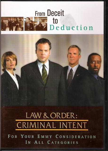 criminal intent antithesis