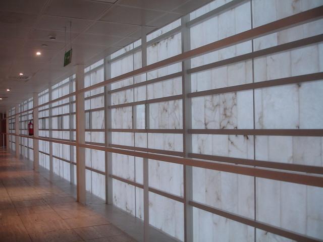 Edificio caja granada campo baeza alabastro como cerra for Caja de granada oficinas