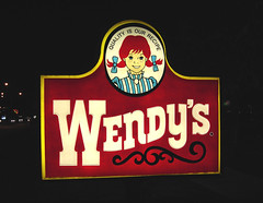 Wendy's Sign | by Roadsidepictures