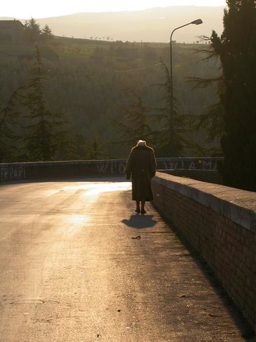 Old woman walks | by FasterDix
