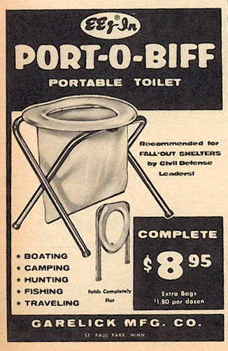 Port-O-Biff toilet ad | by wardomatic
