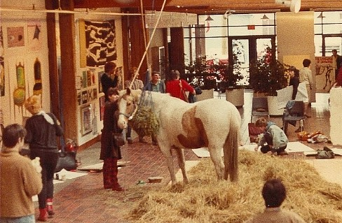 'Learn To Draw A Horse' Day - Van. 1980 | by Mikey G Ottawa