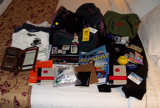 What's really in my carry on bag? - With Flickr notes! | by Earl - What I Saw 2.0