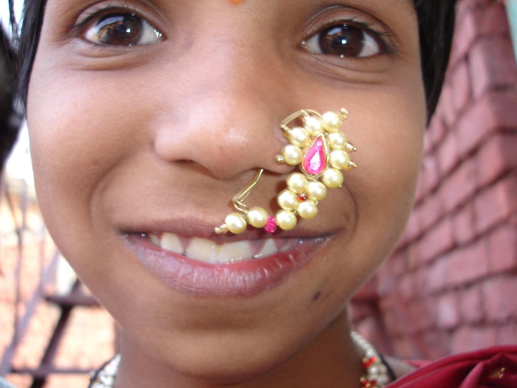 Pink Diamond Nose Rings