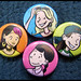 Baby-Sitters Club Graphic Novel Buttons